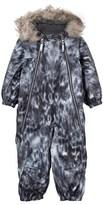 Molo Seal Pyxis Faux Fur Baby Snowsuit