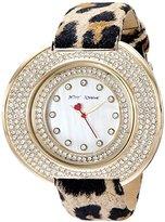 Betsey Johnson Women's BJ00486-02 Analog Display Quartz Multi-Color Watch