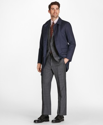 Brooks Brothers Herringbone Trench Coat