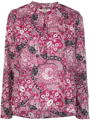 Etoile Isabel Marant Floral Printed Cotton Blouse