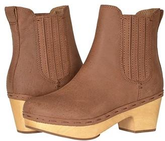 Frye Odessa Chelsea (Rust Oily Nubuck) Women's Boots