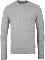 Edwin Grey Stripes Crew Neck Sweater