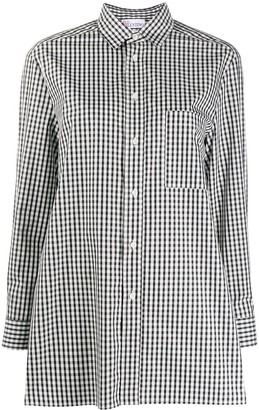 RED Valentino Gingham Flared Shirt