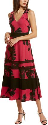 Taylor Lace Insert Midi Dress