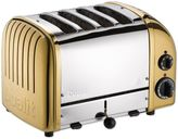 Dualit NewGen 4-Slice Toaster in Brass