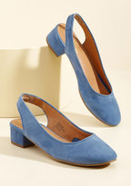 Seychelles Electric Suede Heel in Slate in 8