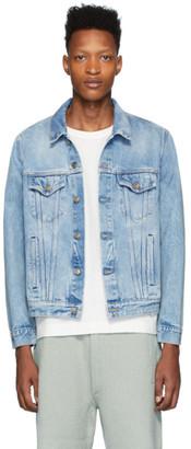 Alanui Blue George Denim Jacket