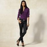 Woven Silk Pocket Shirt