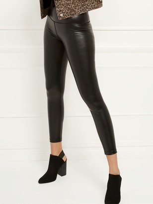 New York & Co. High-Waisted Faux-Leather Pocket Legging