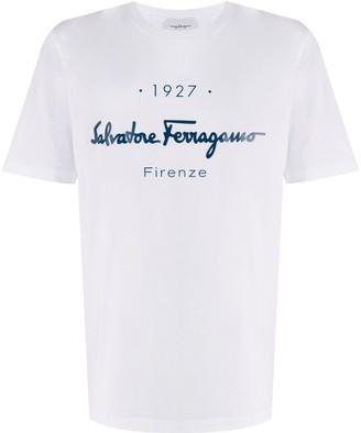 Salvatore Ferragamo logo print short-sleeve T-shirt