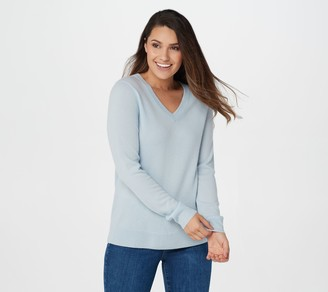 Soft by NAADAM 100% Cashmere Essential V-Neck Pullover Sweater