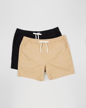Staple Superior Big & Tall Staple Big & Tall Slater Shorts 2-Pack