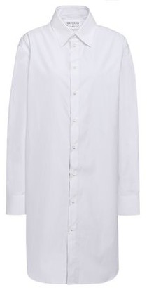 Maison Margiela Metallic Shell-trimmed Cotton-poplin Shirt