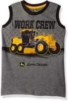 John Deere Big Boys' Work Crew Muscle Tee