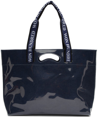 Won Hundred Navy Journey Tote