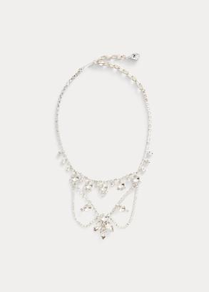 Ralph Lauren Crystal Wreath Necklace