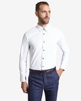 Ted Baker Deluxe Jacquard Shirt White