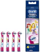 Oral-B Oral B Disney Stages Power Toothbrush Heads (4 Pack)