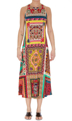 Etro Patchwork Print Dress