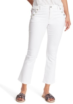 Sanctuary Sailor Cropped Flared Jeans