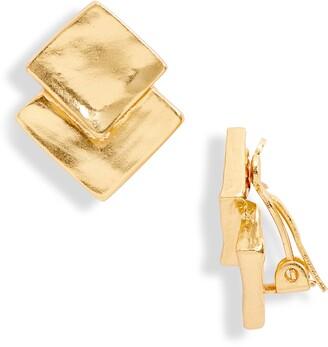 Karine Sultan Square Earrings
