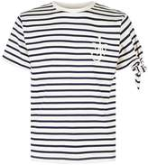 J.W.Anderson Embroidered Breton Stripe T-Shirt