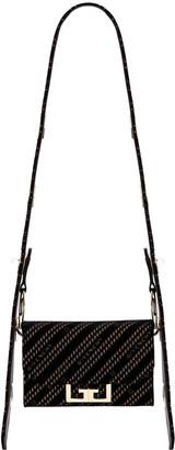 Givenchy Nano Eden Lasered Velvet Bag in Black | FWRD