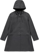 Stutterheim Black Womens Mosebacke Raincoat - M - Black