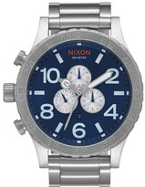 Nixon 'The 51-30' Chronograph Bracelet Watch, 51mm
