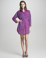 See by Chloe Floral-Print Shirtdress