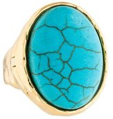 Alexis Bittar Blue Howlite Cocktail Ring