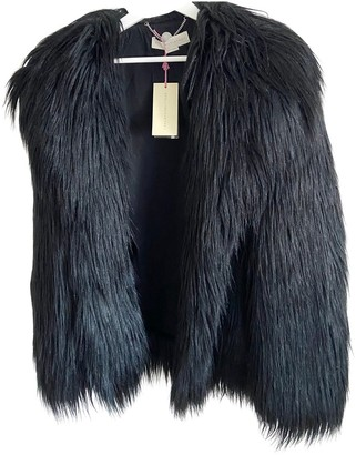 Stella McCartney Black Faux fur Coats