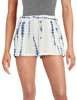 French Connection Tie-Dyed Print Shorts