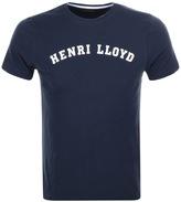 Henri Lloyd Ragian Regular T Shirt Navy