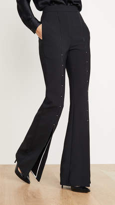 Ellery Jimmy Split Front Embellished Pants