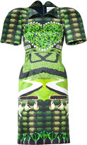 Mary Katrantzou Jade Garden Tea Party Print Dress