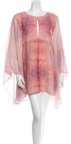 Alexis Gradient Watercolor Tunic w/ Tags