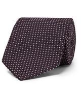 Tom Ford 8.5cm Polka-dot Silk-blend Jacquard Tie - Dark purple