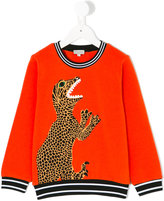 Paul Smith dinosaur print sweatshirt - kids - Cotton - 2 yrs
