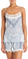 In Bloom Paisley Print Camisole Set