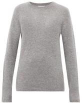 Gabriela Hearst Chester Cashmere-blend Sweater - Womens - Light Grey