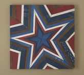 Pottery Barn Planked Star Panel