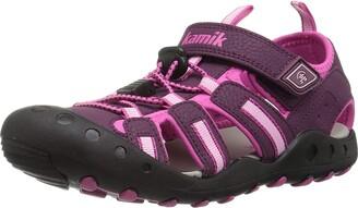 Kamik Girls' Crab Closed Toe Sandals
