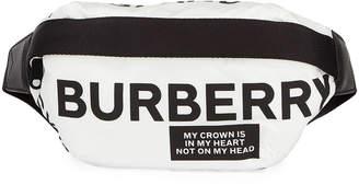 Burberry Medium Logo Print Belt Bag