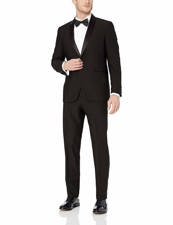 Mens Black Wedding Suits Shop The World S Largest Collection Of Fashion Shopstyle Uk