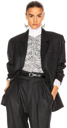 Isabel Marant Melinda Jacket in Anthracite | FWRD