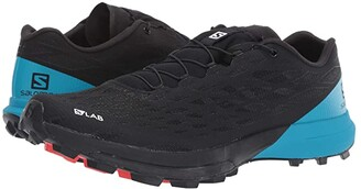 Salomon S/Lab XA Amphib 2 (Black/Black/Transcend Blue) Shoes