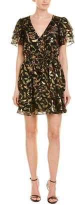 Rachel Zoe Rachele Silk-Blend A-Line Dress