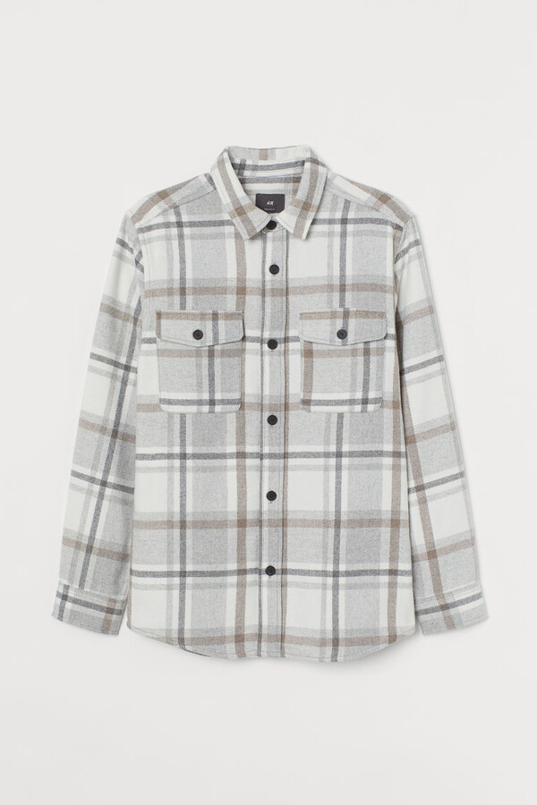 Thumbnail for your product : H&M Twill Shirt Jacket - Beige