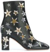 Valentino Garavani Valentino star embellished ankle boots
